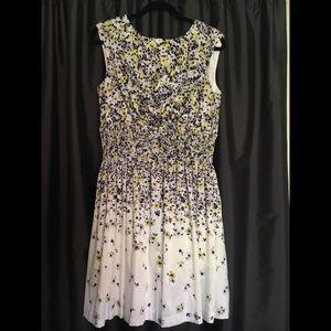 Jessica Simpson Ombré Flower Dress